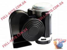 Автомобильный звуковой сигнал воздушный Elegant 100 770 Nautilus Compact 530/680 Гц черный