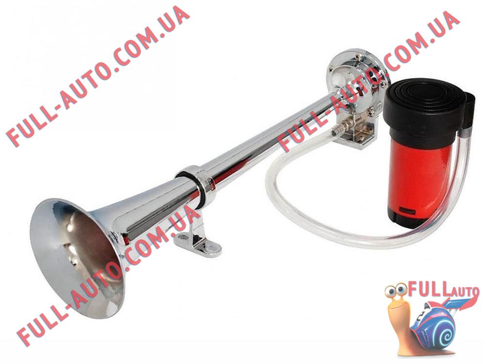 Автомобильный звуковой сигнал воздушный Elegant 100 790 1 дудка 450 мм