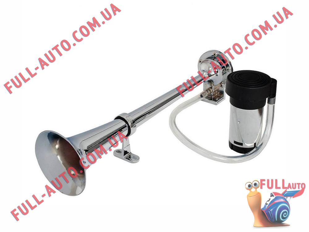 Автомобильный звуковой сигнал воздушный Elegant 100 795 1 дудка 400 мм