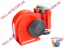 Автомобильный звуковой сигнал воздушный Elegant 100 760 Nautilus 530/680 Гц красный