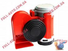Автомобильный звуковой сигнал воздушный Elegant 100 780 Nautilus Compact 530/680 Гц красный
