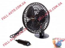 Вентилятор автомобильный на присоске Elegant 101 540 12V 13 см