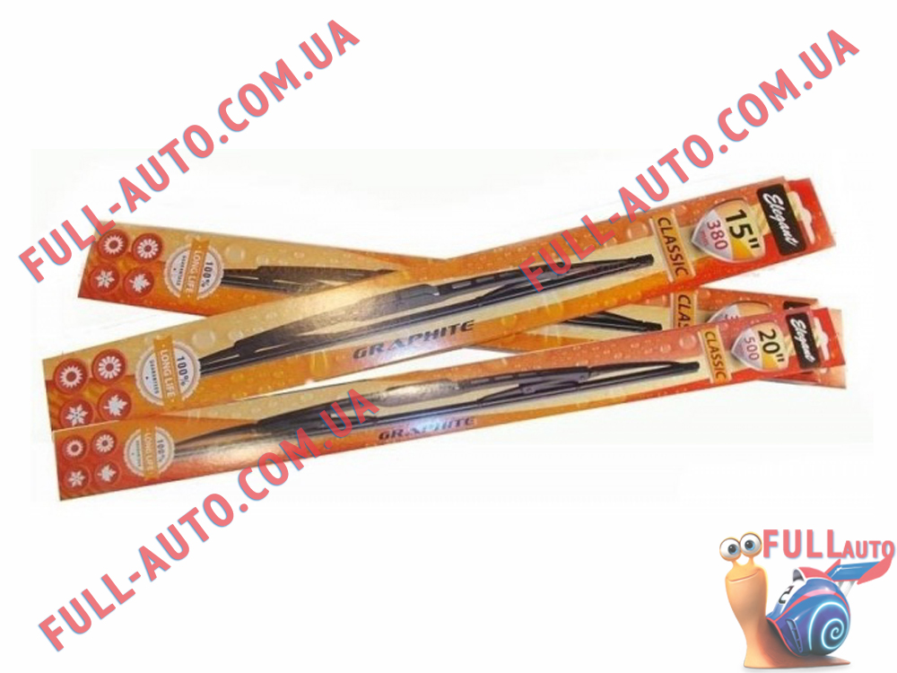 Дворники каркасные ELEGANT CLASSIC 65 см