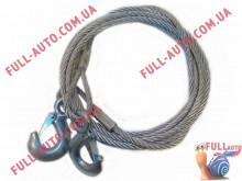 Трос буксировочный металлический ST-202A 4 м 5 т диам 0,8 см