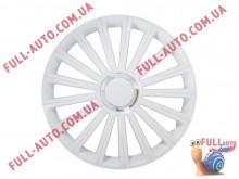 Колпаки на колеса 4 Racing Radical Pro White