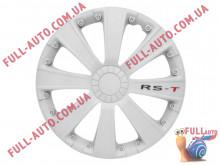 Колпаки на колеса 4 Racing Rst White