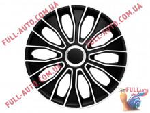 Колпаки на колеса 4 Racing Voltec Pro Black & White
