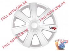 Колпаки на колеса 4 Racing Vr Carbon White