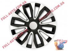 Колпаки на колеса 4 Racing Avalon Silver & Black