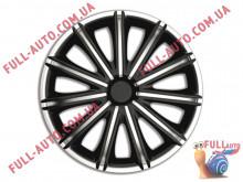 Колпаки на колеса 4 Racing Nero Silver & Black