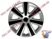 Колпаки на колеса 4 Racing Vr Silver & Black