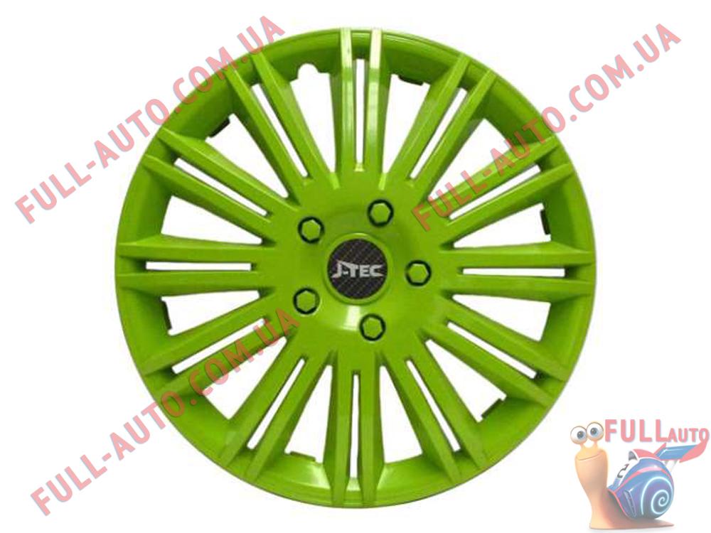 Колпаки на колеса Jacky Discovery green