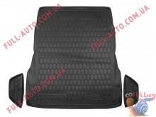 Коврик в багажник резиновый Mercedes S-Class W222 2013- без регулировки сидений (Avto Gumm)