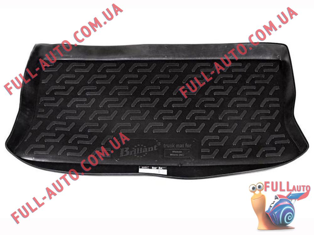 Коврик в багажник Nissan Micra 3 K12 03-10 (Lada Locker)