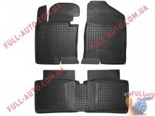 Коврики в салон резиновые Hyundai Sonata 10-14 (Avto Gumm)