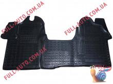 Коврики в салон резиновые Renault Master 3 2011- (Avto Gumm)