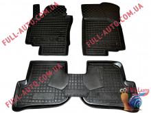 Коврики в салон резиновые Seat Altea XL 2007- (Avto Gumm)