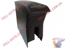 Подлокотник С вышивкой черный Chevrolet Aveo T200, T250