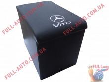 Подлокотник С вышивкой черный Mercedes Vito 96-03