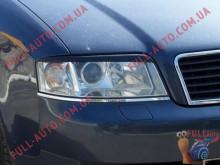 Реснички на фары Audi A6 C5 97-04