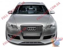 Реснички на фары Audi A6 C6 04-11