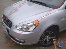 Реснички на фары Hyundai Accent 06-10