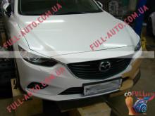 Реснички на фары Mazda 6 2013-