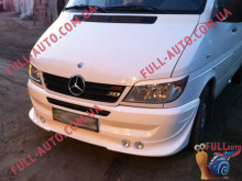 Реснички на фары Mercedes Sprinter 00-06
