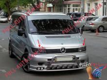 Реснички на фары Mercedes Vito 1996-2003 Прямые (стеклопластик, под покраску)