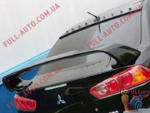 Козырек на стекло Mitsubishi Lancer 10 Бленда Evo