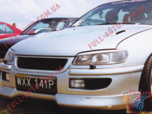 Реснички на фары Opel Omega B