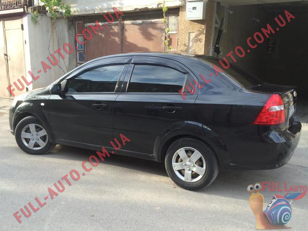 Ветровики Chevrolet Aveo T250 (ANV air)