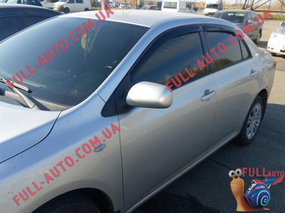 Ветровики Toyota Corolla 2007-2013 (ANV air)